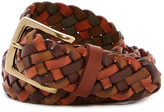 Tommy Bahama Vegetable Braided Leather XL Belt
