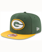 New Era Green Bay Packers Official Sideline 9FIFTY Cap