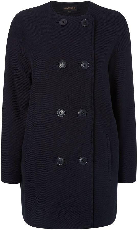 Jaeger Cotton Textured Coat