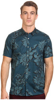 Ted Baker Flowley Short Sleeve Large Scale Floral Shirt