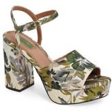 Topshop Women's Lava Platform Sandal