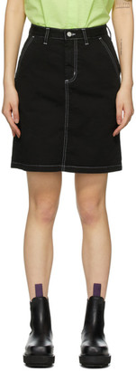 Carhartt Work In Progress Black Armanda Miniskirt