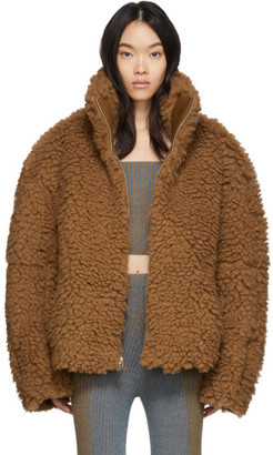 Eckhaus Latta Brown Yeti Jacket