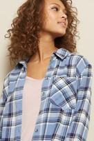 Garage Flannel Plaid Boyfriend Shirt