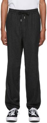 Wonders Black Pinstripe Lounge Pants