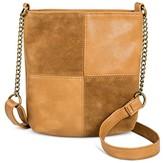 T-Shirt & Jeans Women's Faux Leather Mini Patchwork Crossbody Handbag