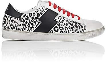 Amiri Women's Viper Leather Sneakers - Wht.&blk.