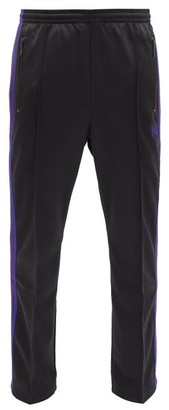Needles Butterfly-embroidered Jersey Track Pants - Charcoal