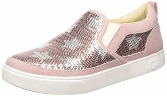UGG Kids' Caplan Sequin Stars Slip-On Shoe