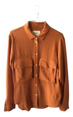 Nanushka Orange Polyester Tops
