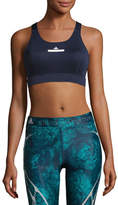 adidas by Stella McCartney The Pull-On Sports Bra, Noble Ink (Dark Blue)