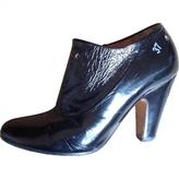 Maison Margiela Black Patent leather Ankle boots