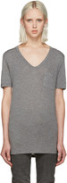 Alexander Wang Grey Jersey Pocket T-Shirt