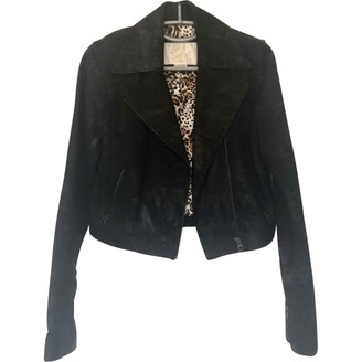 Sara Berman \N Black Leather Jacket for Women