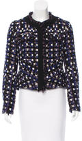 Peter Pilotto Metallic-Accented Wool-Blend Blazer