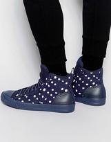 G Star G-Star Falton Polka Hi-Top Sneakers
