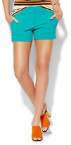 """New York & Co. 7th Avenue - 4"""" Short - Signature Fit - Turquoise"""