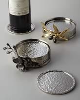 Michael Aram Black Orchid Coaster Set