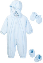 Emile et Rose Jarvis Hooded Snowsuit, Mittens, & Bootie (Baby Boys)