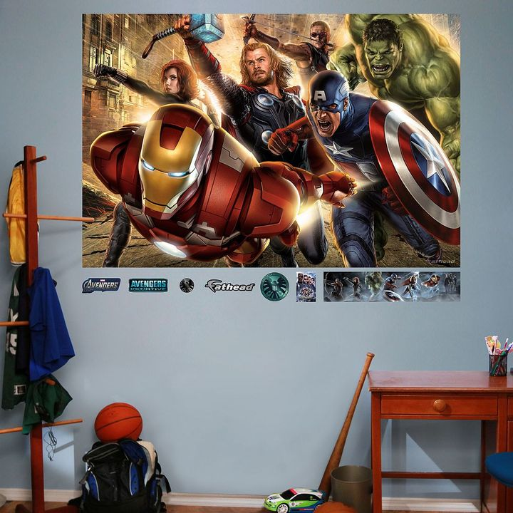Fathead The avengers mural wall decals