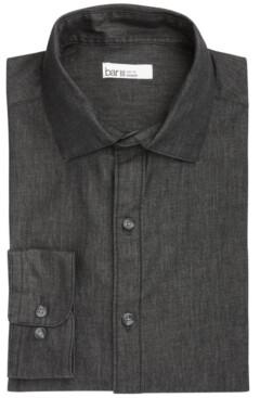 Bar III Men's Denim-Style Long-Sleeve Shirt, Created for Macy's
