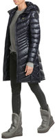 Blauer Wave Quilted Down Coat