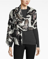 INC International Concepts Butterfly Print Scarf, Only at Macy's