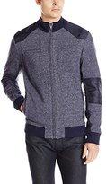 Calvin Klein Jeans Men's Full Zip Moto Jacket