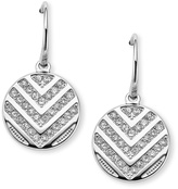 Fossil Chevron Drop Earrings