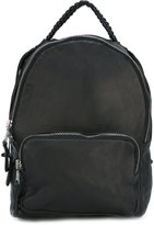 Giorgio Brato whipstitch detail backpack