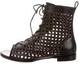 Proenza Schouler Sam Laser Cut Ankle Boots