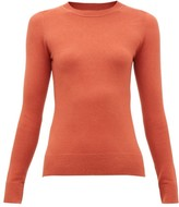 JoosTricot Cotton-blend Crewneck Sweater - Womens - Brown