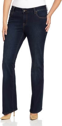 Lucky Brand Women's Plus Size Mid Rise Ginger Bootcut Jean