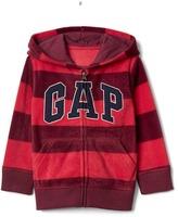 Gap Pro Fleece logo stripe hoodie