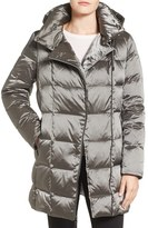 Kenneth Cole New York Women's Iridescent Down & Feather Fill Coat