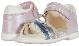 Geox Kids Verred 24 (Toddler) (Pink) Girl's Shoes