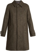 A.P.C. Dinnard Prince of Wales-checked wool coat