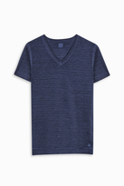120% Lino V-Neck T-Shirt
