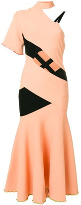 Proenza Schouler Asymmetric One Sleeve Dress