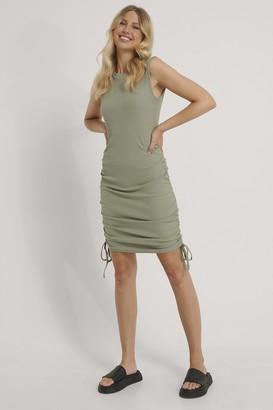 NA-KD Sleeveless Drawstring Dress