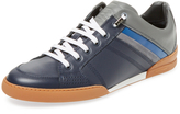 Christian Dior Men's Leather Low Top Sneaker