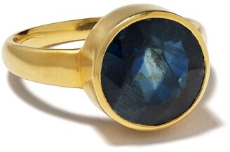 Pippa Small 18kt gold Greek ring
