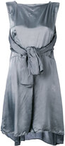 Maison Margiela tie front dress - women - Viscose - 42