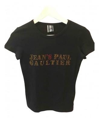 Jean Paul Gaultier Black Cotton Top for Women Vintage