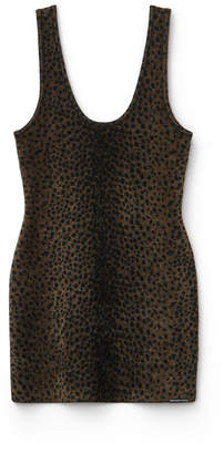 Collection chenille mini dress