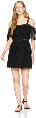 Jack by BB Dakota Junior's Aitana Geometric Lace Dress