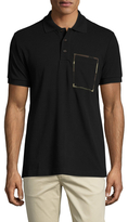 Christian Dior Camouflage Pocket Trim Polo