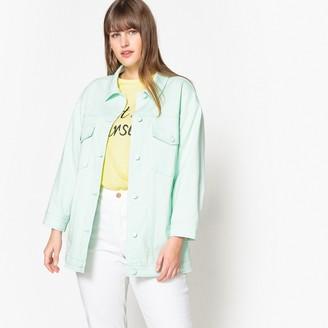 Castaluna Plus Size Loose Fit Denim Jacket