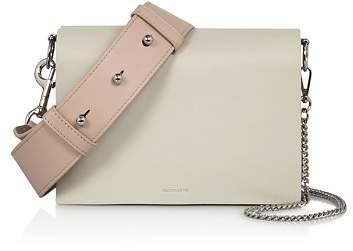 AllSaints Zep Leather Shoulder Bag