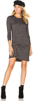 Riller & Fount Olive Pinched Front Dress